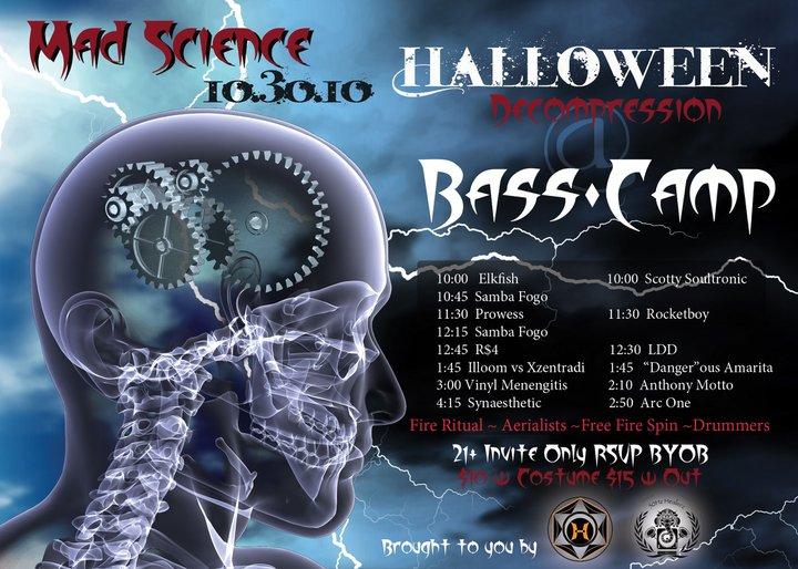 Basscamp Decomp Halloween