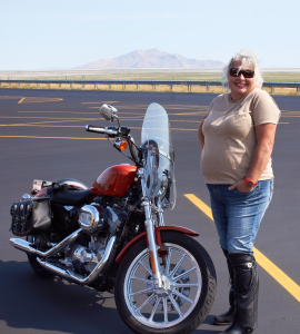 Riding The Desert With Beautiful Women ON Their Cool Bikes!