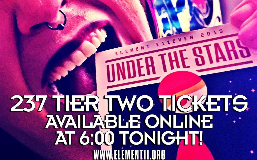 237 Tickets Left Online…
