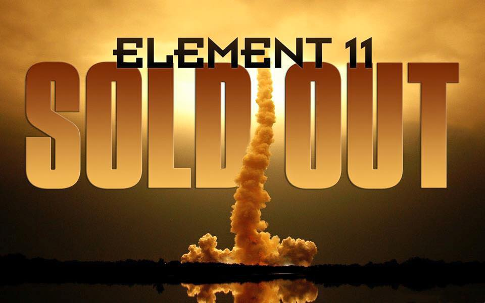 "Element 11 2015 – ""Under the Stars"" is now officially Sold Out!"