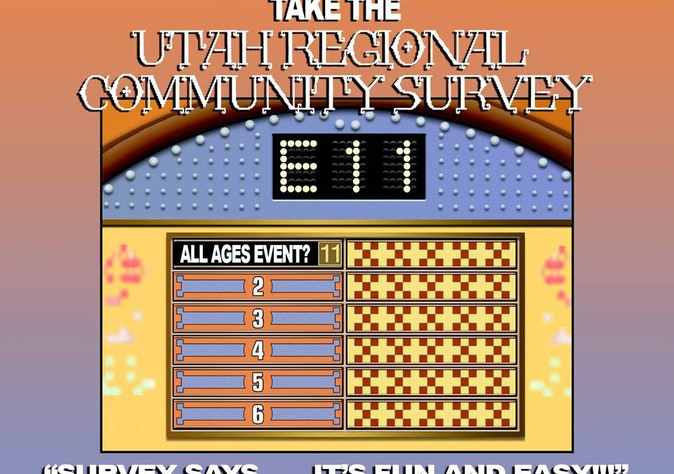 2015 Utah Regional Community Survey