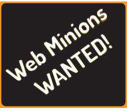 Web Minions Wanted!