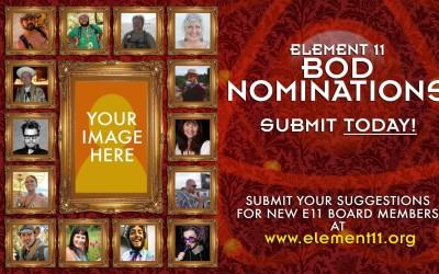 2015 Element 11 BOD Nominations